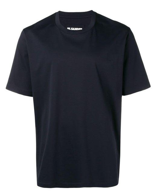 メンズ Jil Sander レギュラーフィット Tシャツ Blue
