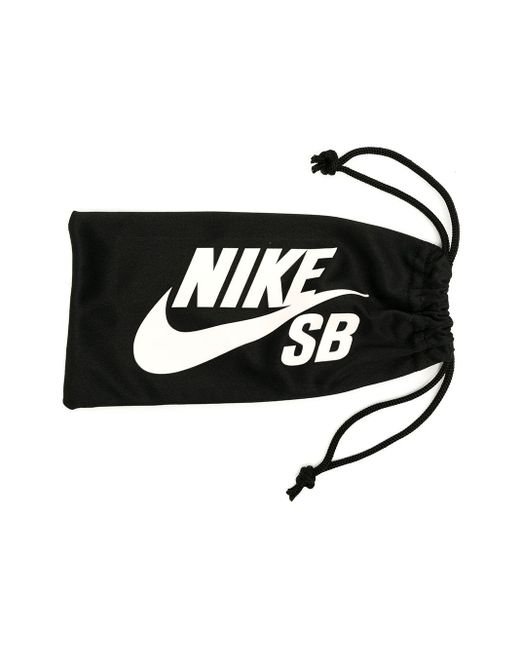メンズ Nike ラウンドフレーム サングラス Black
