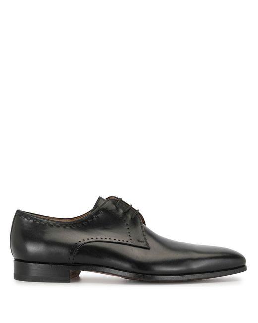 メンズ Magnanni Shoes ダービーシューズ Black