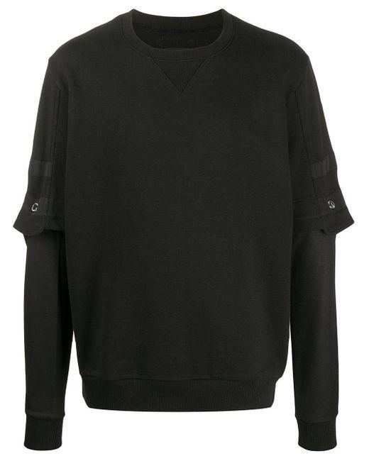 メンズ Les Hommes スウェットシャツ Black