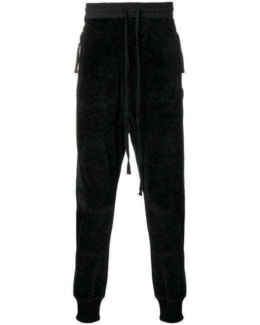 Thom Krom - Black Tapered Track Pants for Men - Lyst
