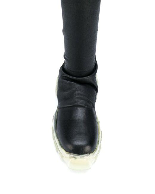 Ботфорты Performa Rick Owens, цвет: Black
