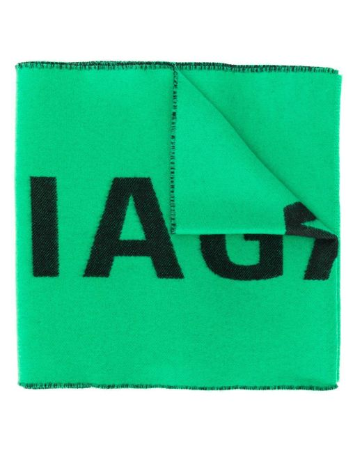 Balenciaga ロゴスカーフ Green