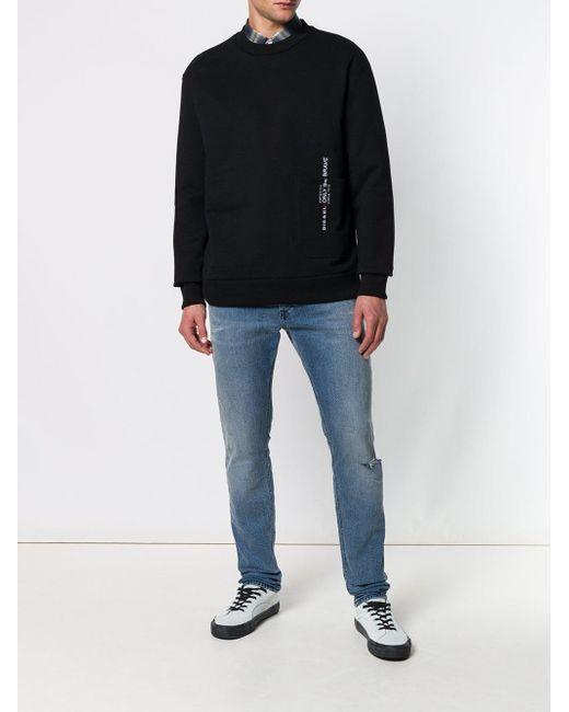 81281e58124d9b ... DIESEL - Blue Tepphar 084vi Jeans for Men - Lyst ...