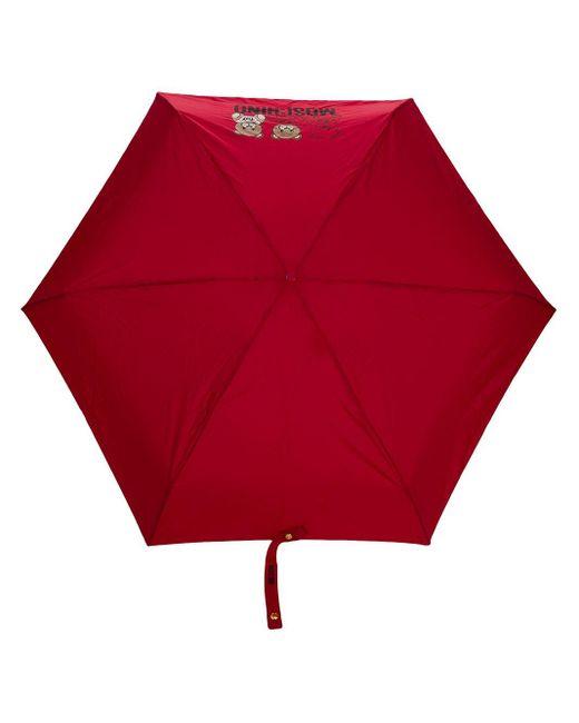 Зонт С Принтом Moschino, цвет: Red