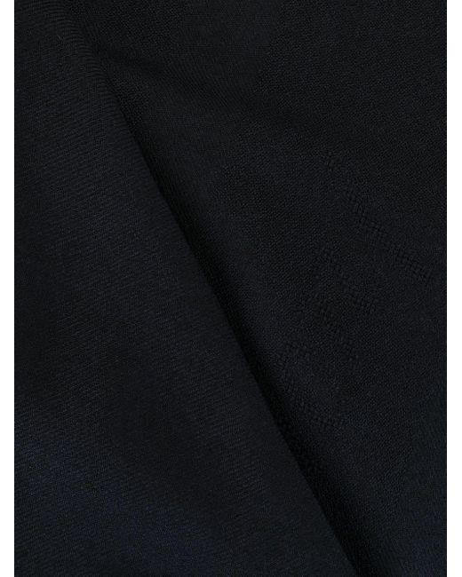 メンズ Brioni フレイド スカーフ Black