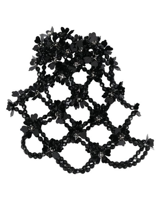 Bijou chignon à ornements Simone Rocha en coloris Black