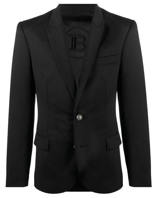 メンズ Balmain シングルジャケット Black