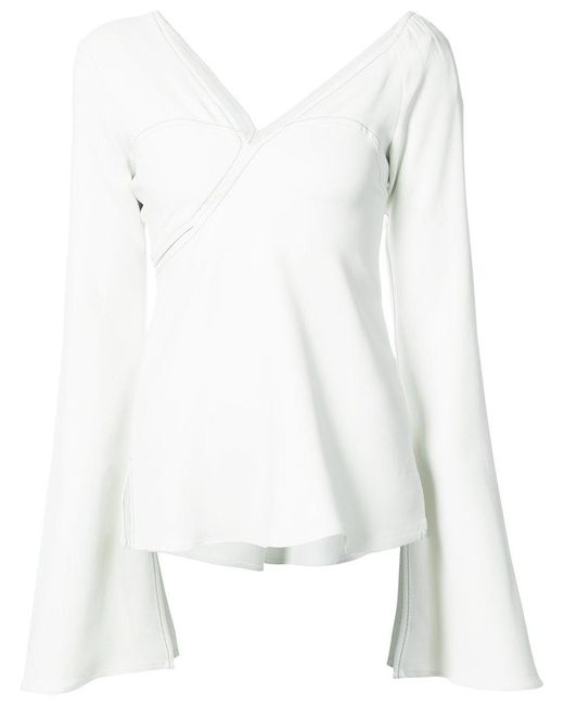 Beaufille | White Hera Blouse | Lyst