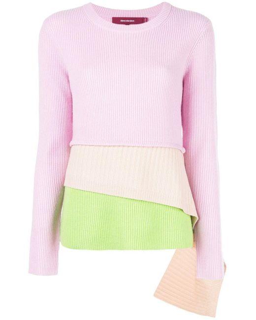 Sies Marjan レイヤード セーター Pink
