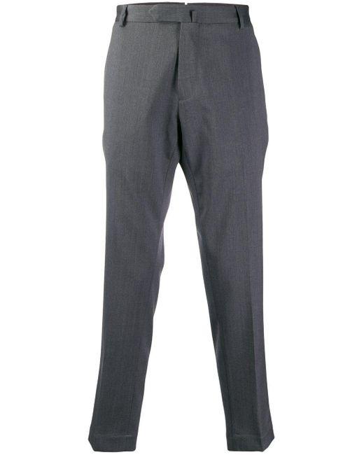 メンズ Dell'Oglio クロップド テーラードパンツ Gray