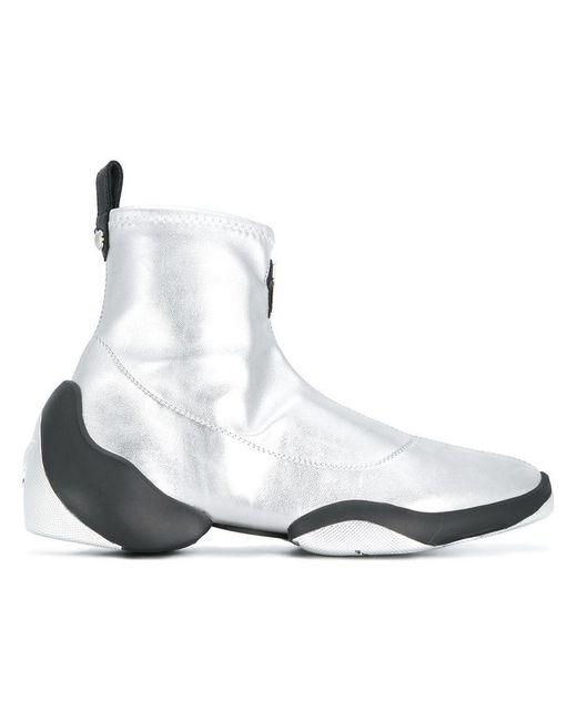 Giuseppe Zanotti - Metallic Light Jump Sneakers - Lyst