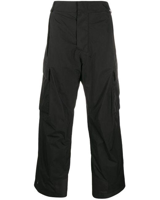 メンズ 3 MONCLER GRENOBLE カーゴパンツ Black