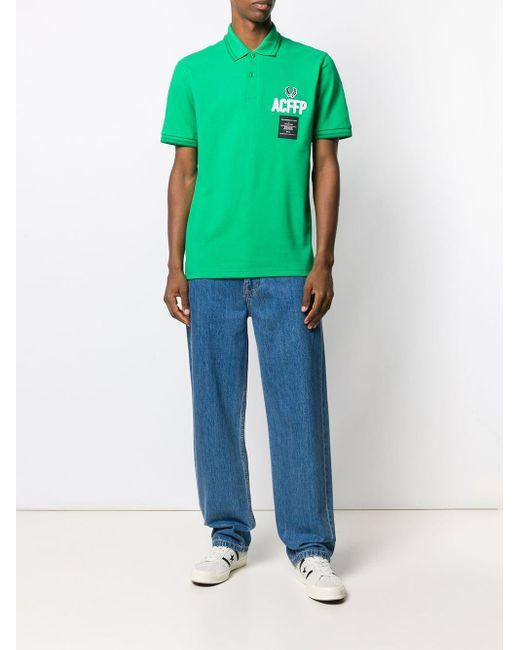 メンズ Fred Perry ロゴ ポロシャツ Green