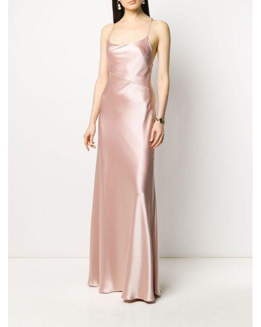 Galvan Serena マキシドレス Pink
