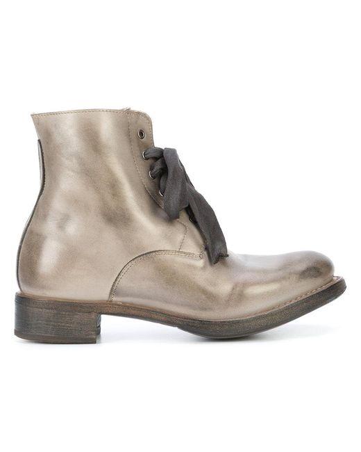 Cherevichkiotvichki - Gray Lace-up Boots - Lyst