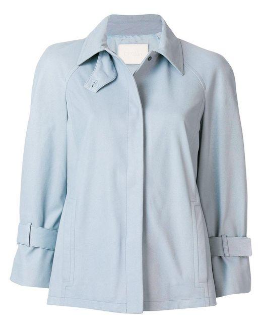 DROMe - Blue 3/4 Sleeve Jacket - Lyst