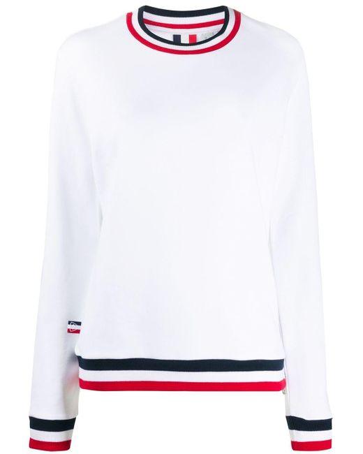 Rossignol ラウンドネック スウェットシャツ White