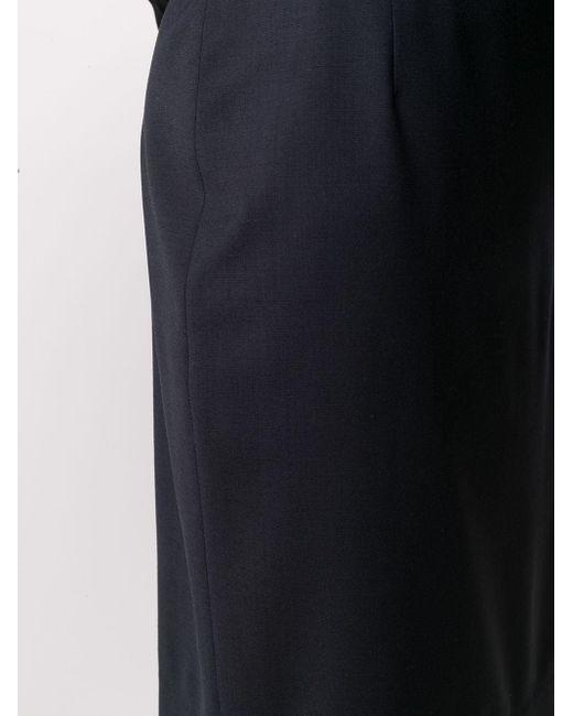 Юбка-карандаш Узкого Кроя Filippa K, цвет: Blue