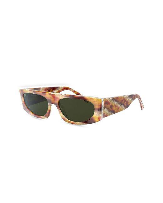 Alain Mikli Women's Yellow Horn Frame Sunglasses