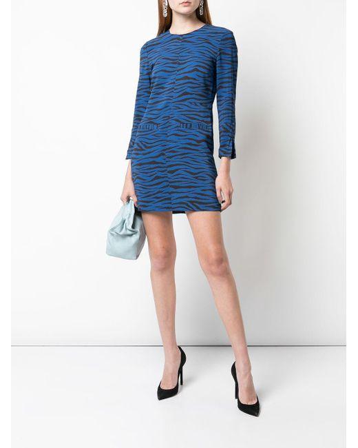A.L.C. タイガープリント ドレス Blue