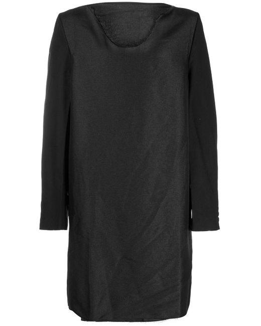 メンズ Comme des Garçons コントラストスリーブ スウェットシャツ Black