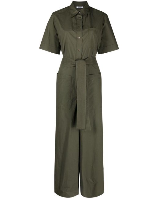P.A.R.O.S.H. Green Canyox Jumpsuit