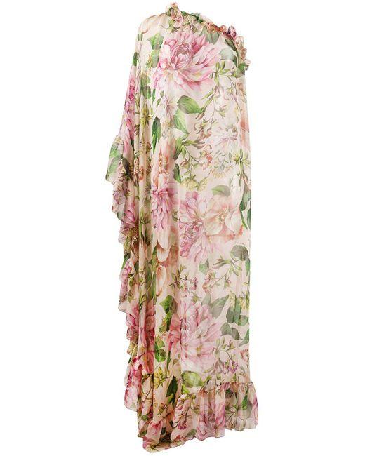 Dolce & Gabbana ローズ ドレス Multicolor