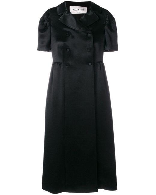 Valentino ダブルブレスト ドレス Black