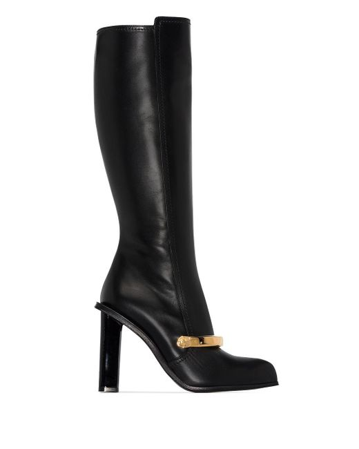 Декорированные Сапоги Alexander McQueen, цвет: Black