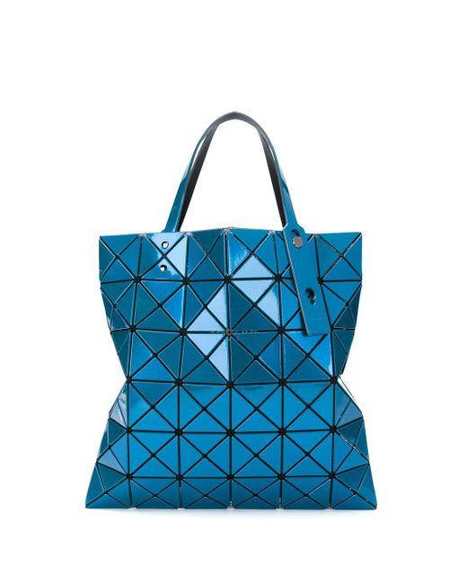 Сумка-тоут Prism Bao Bao Issey Miyake, цвет: Blue