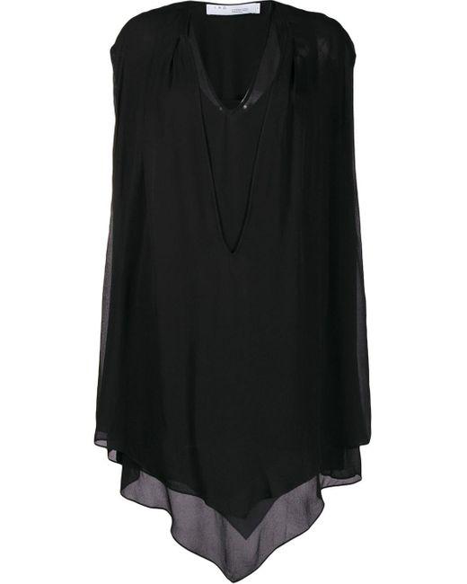 IRO ドレープドレス Black