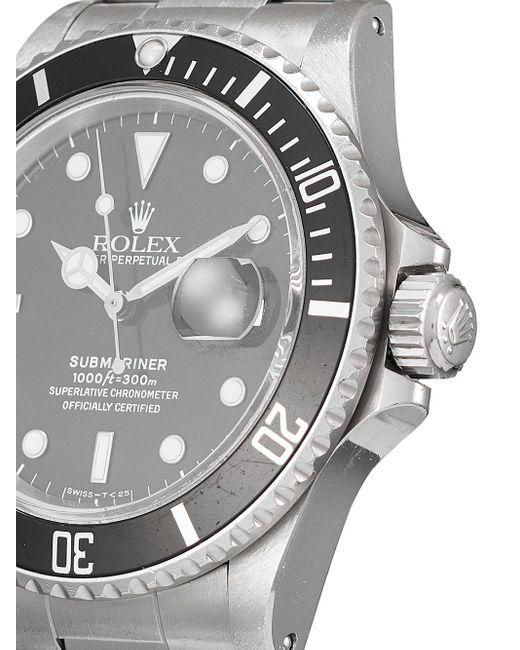 Наручные Часы Submariner Pre-owned 40 Мм 1987-го Года Rolex для него, цвет: Black