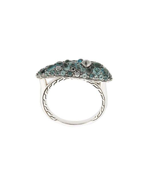 John Hardy Blue Classic Chain Ring