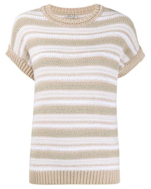 Peserico ショートスリーブ セーター Multicolor