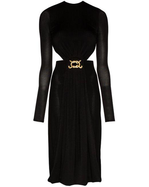 Dodo Bar Or カットアウト ドレス Black
