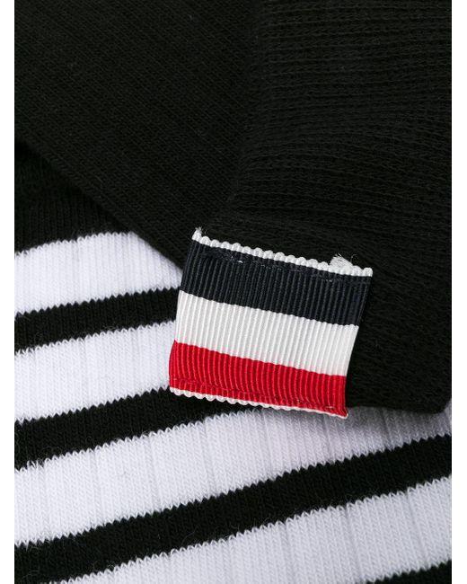Thom Browne 4bar 靴下 Black