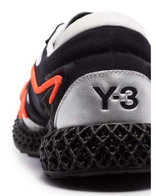 メンズ Y-3 4d Runner スニーカー Black