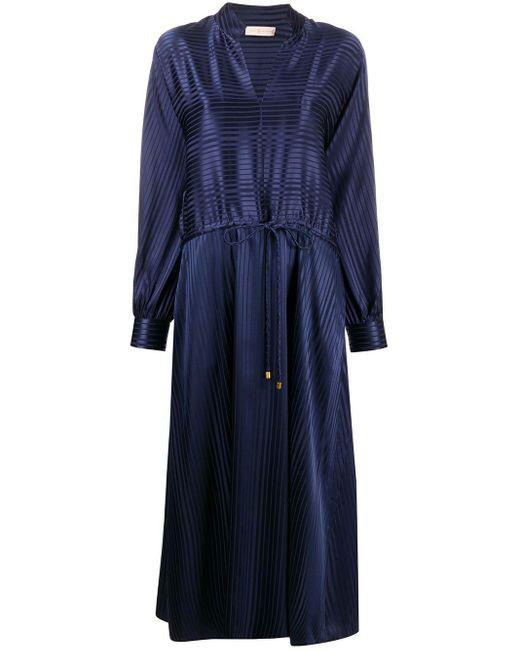 Tory Burch ドローストリング ドレス Blue