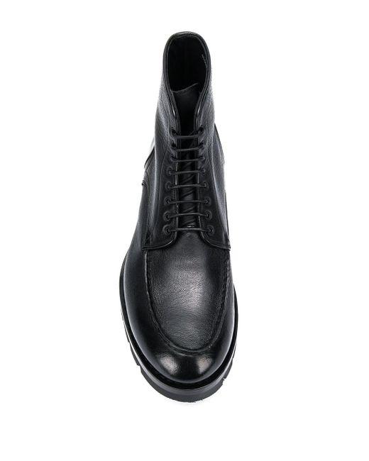 Bottines Santoni pour homme en coloris Black