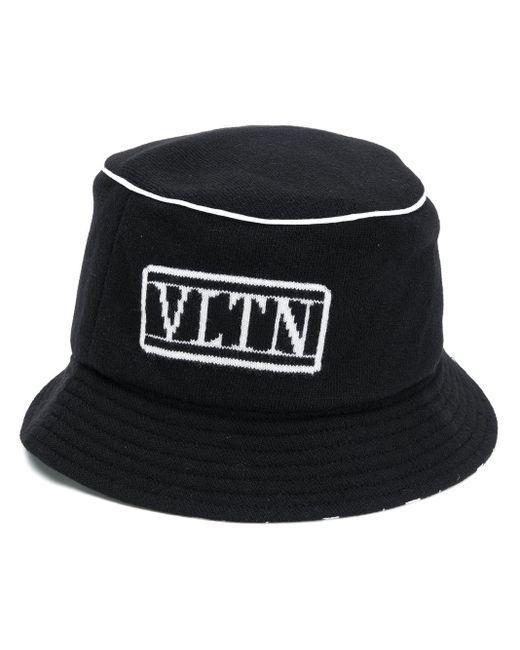 メンズ Valentino Vltn バケットハット Black