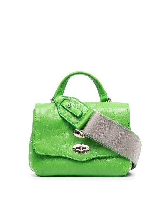 Zanellato Green Flap Two-way Bag