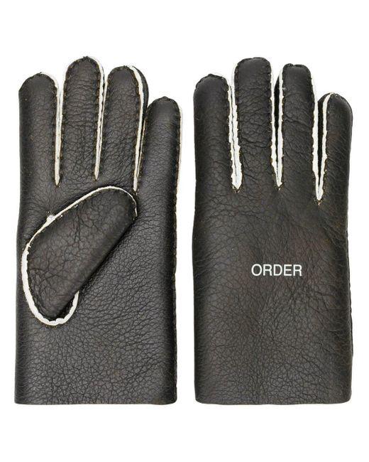 Gants Order/Disorder Undercover pour homme en coloris Black