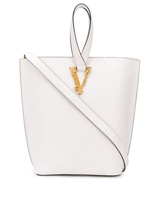 Versace Virtus ハンドバッグ White