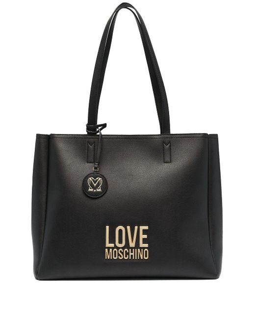 Love Moschino ロゴ トートバッグ Black