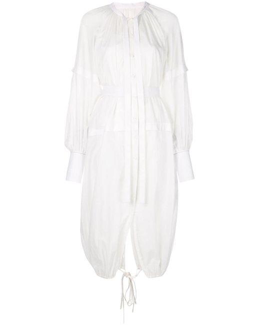 Proenza Schouler ロングスリーブ ドレス White