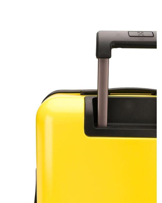 Чемодан С Логотипом Off-White c/o Virgil Abloh для него, цвет: Yellow