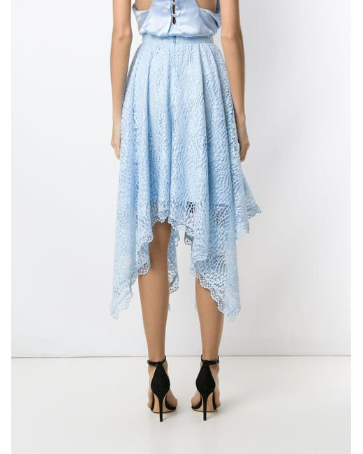 Jupe Petale Olympiah en coloris Blue
