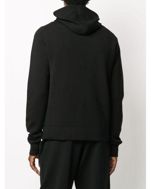 Трикотажное Худи С Рукавами Реглан Bottega Veneta для него, цвет: Black