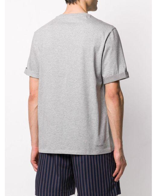 メンズ Neil Barrett Thunderbolt Tシャツ Gray